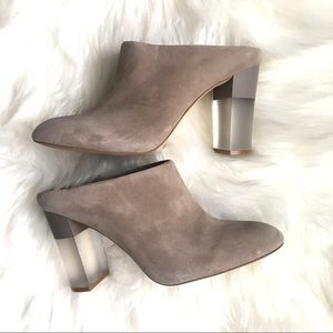 Enzo Angiolini • Heidi Mule w/ Frosted Block Heel